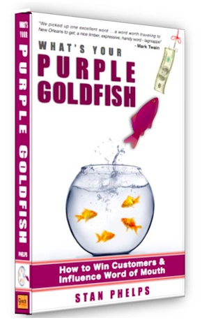 What's Your Purple Goldfish by Stan Phelps Book Cover