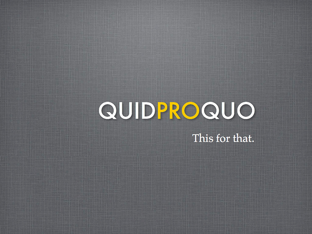 Online Lead Generation: Match teh Quid to the Pro Quo